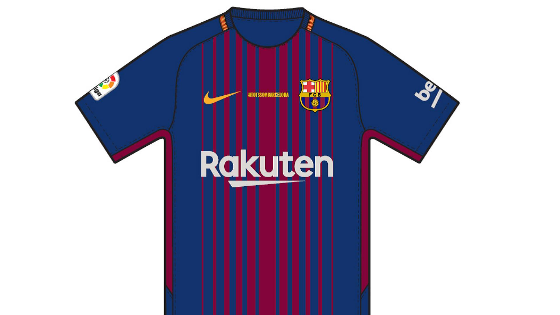 Barça retira nomes dos jogadores das camisolas em homenagem às vítimas