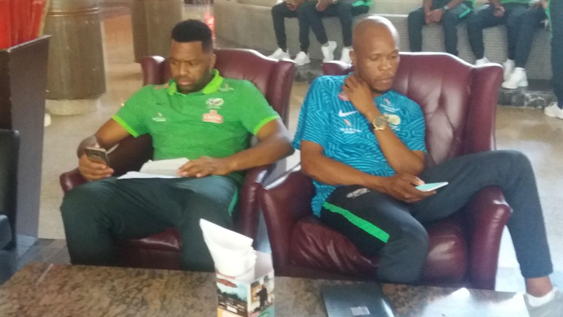 South Afrca Team