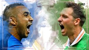 GFX EURO16 France Ireland Euro 2016