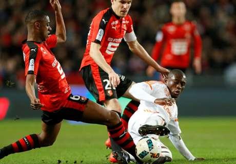 Waris picks up yellow card as Lorient lose