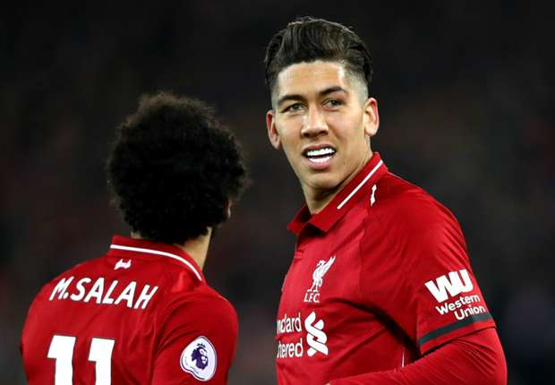 Liverpool's Roberto Firmino lauds Salah's 'unselfish' gesture