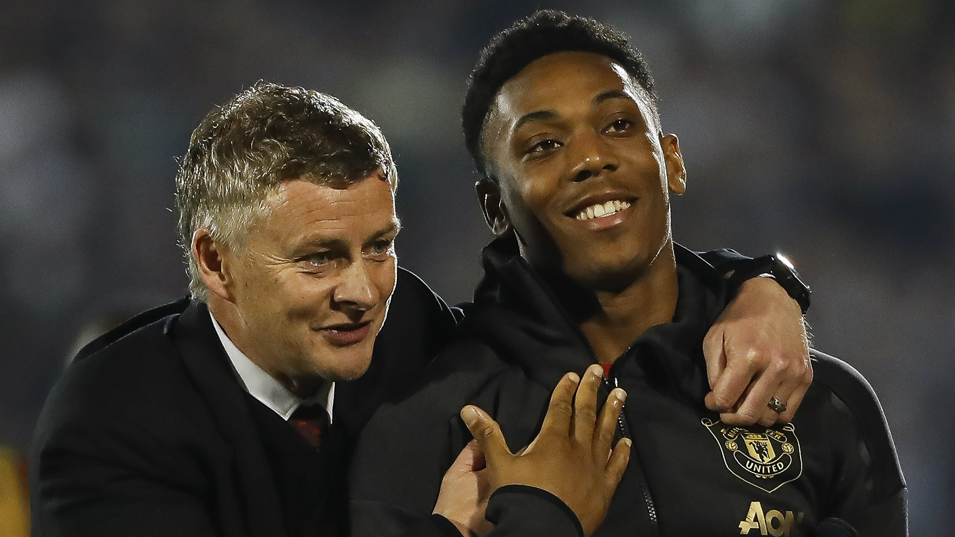 'He has matured a lot' - Solskjaer says Martial is becoming 'obsessed' with scoring goals
