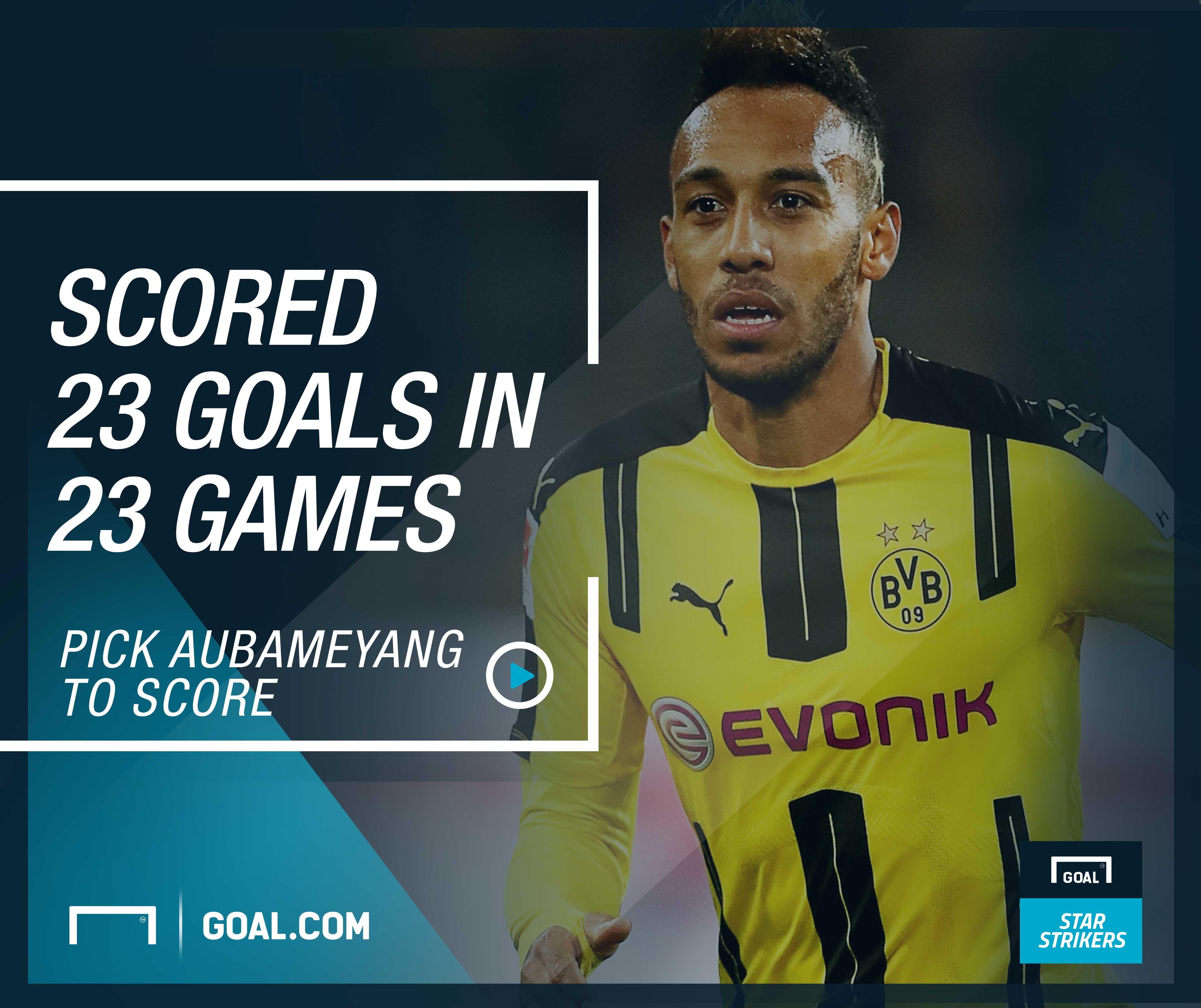 Goal Star Strikers Aubameyang