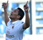 Bacca leads Milan to victory