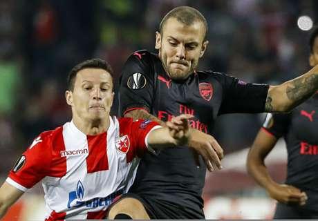 LIVE: Crvena Zvezda vs Arsenal