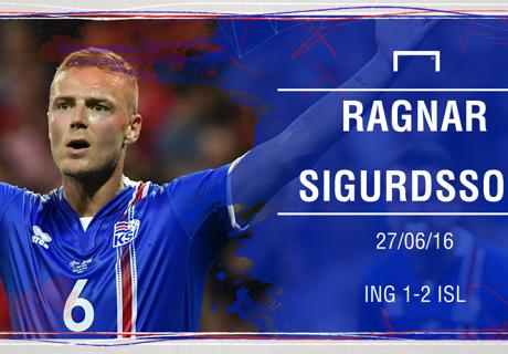MoTM Inggris 1-2 Islandia: Ragnar Sigurdsson