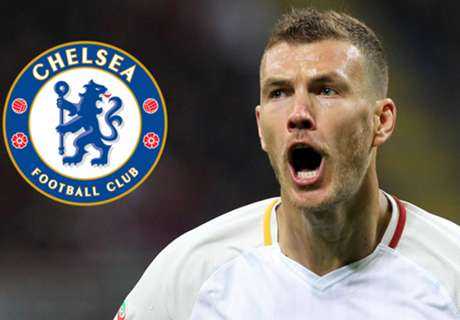 How Chelsea could line up with Edin Dzeko