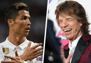 CRISTIANO RONALDO / MICK JAGGER: Swagger, style & sex appeal - these two are natural-born show-stoppers and, so strong is their love of the spotlight, that both are still going strong at an age when most of their peers are pondering retirement!