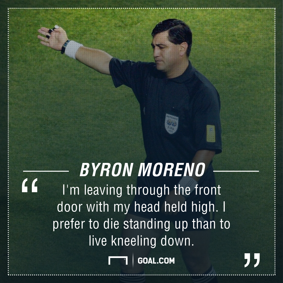 Byron Moreno PS