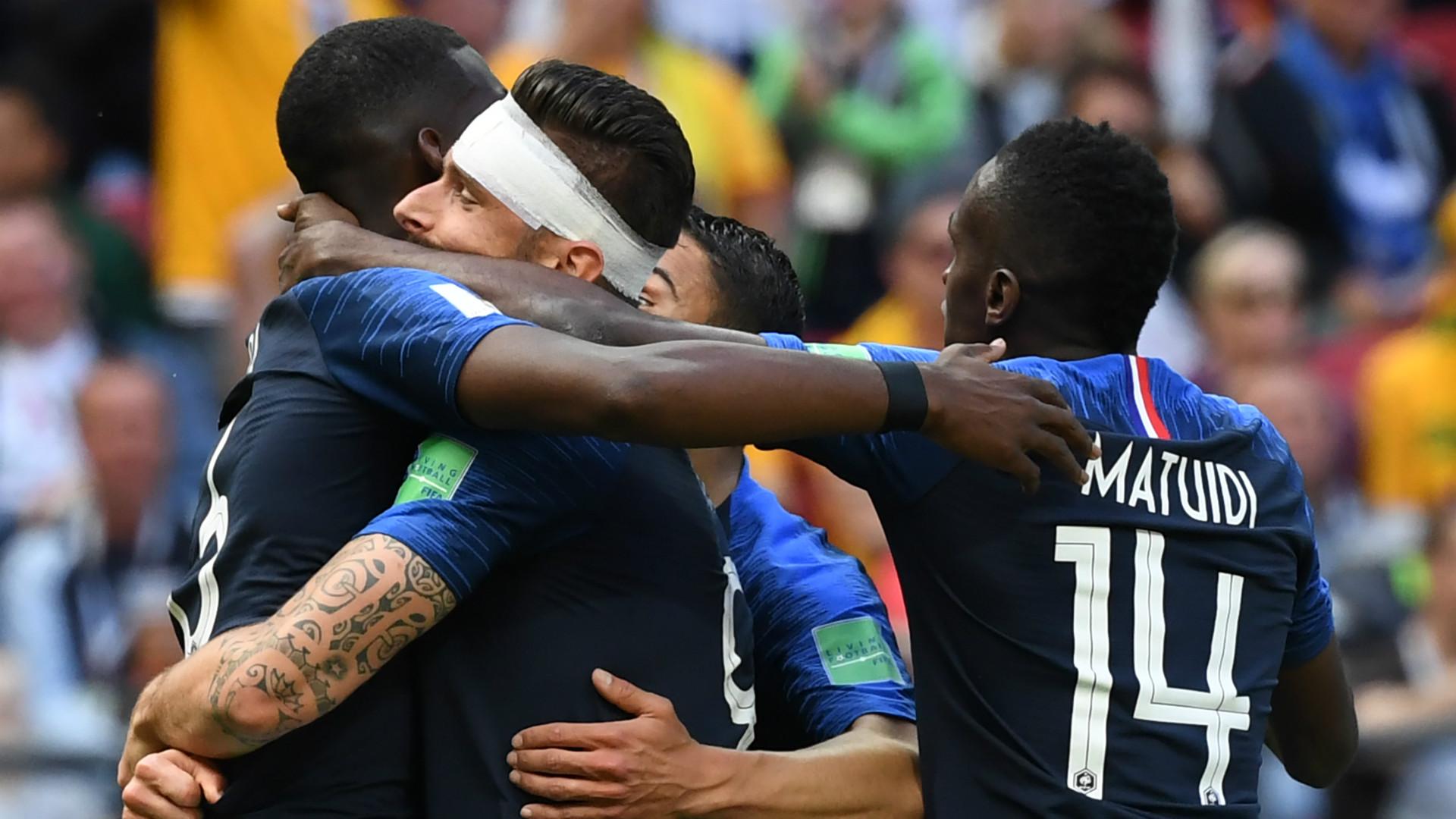 LIVE: France vs Australia