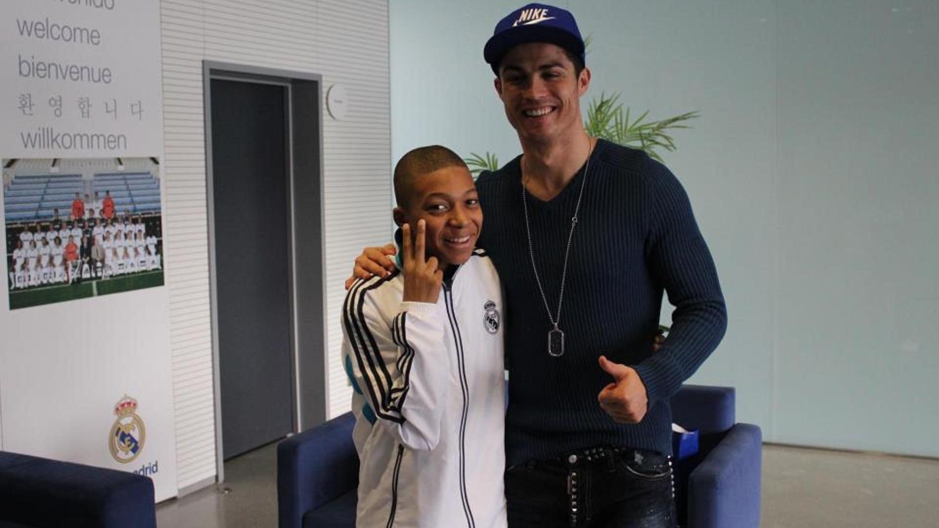 Kylian Mbappé Cristiano Ronaldo 2012