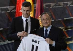 1. GARETH BALE | Tottenham - Real Madrid | 2013 | € 101 milhões de euros