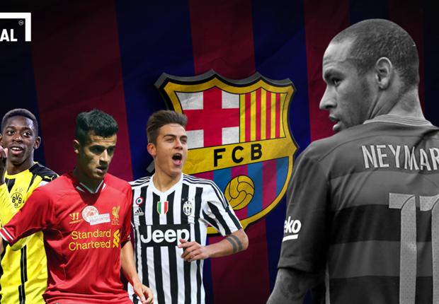 Barcelona Identifikasi Tiga Calon Pengganti Neymar