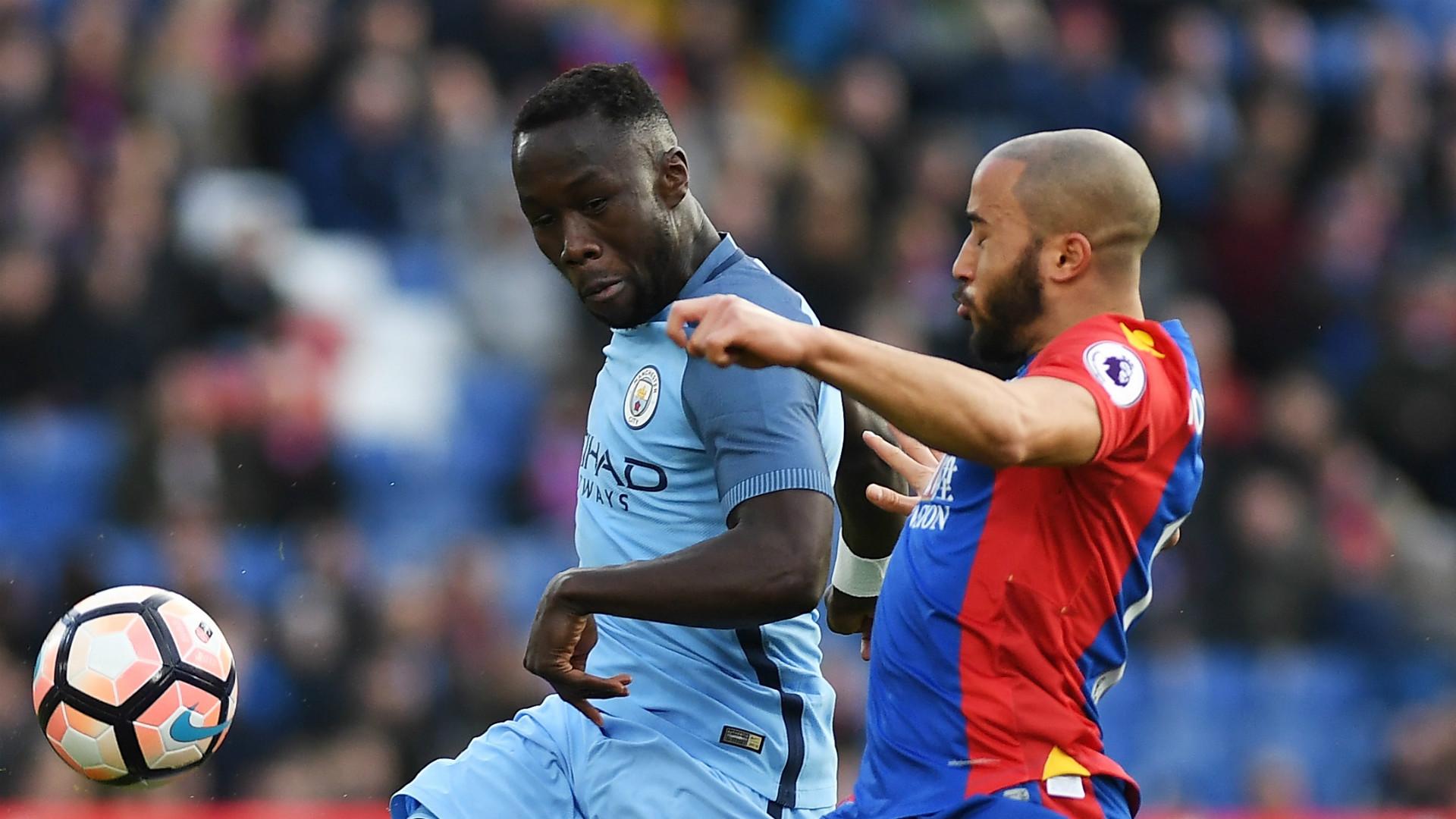 HD Bacary Sagna Manchester City Andros Townsend Crystal Palace