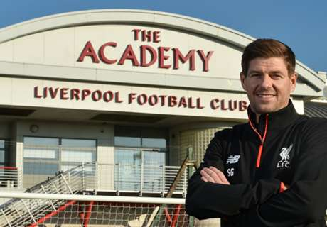 Gerrard back at Liverpool as coach