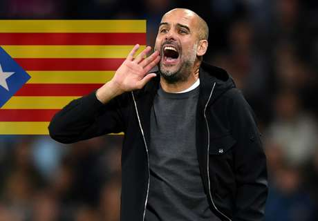 Guardiola dedicates win to imprisoned Catalan leaders