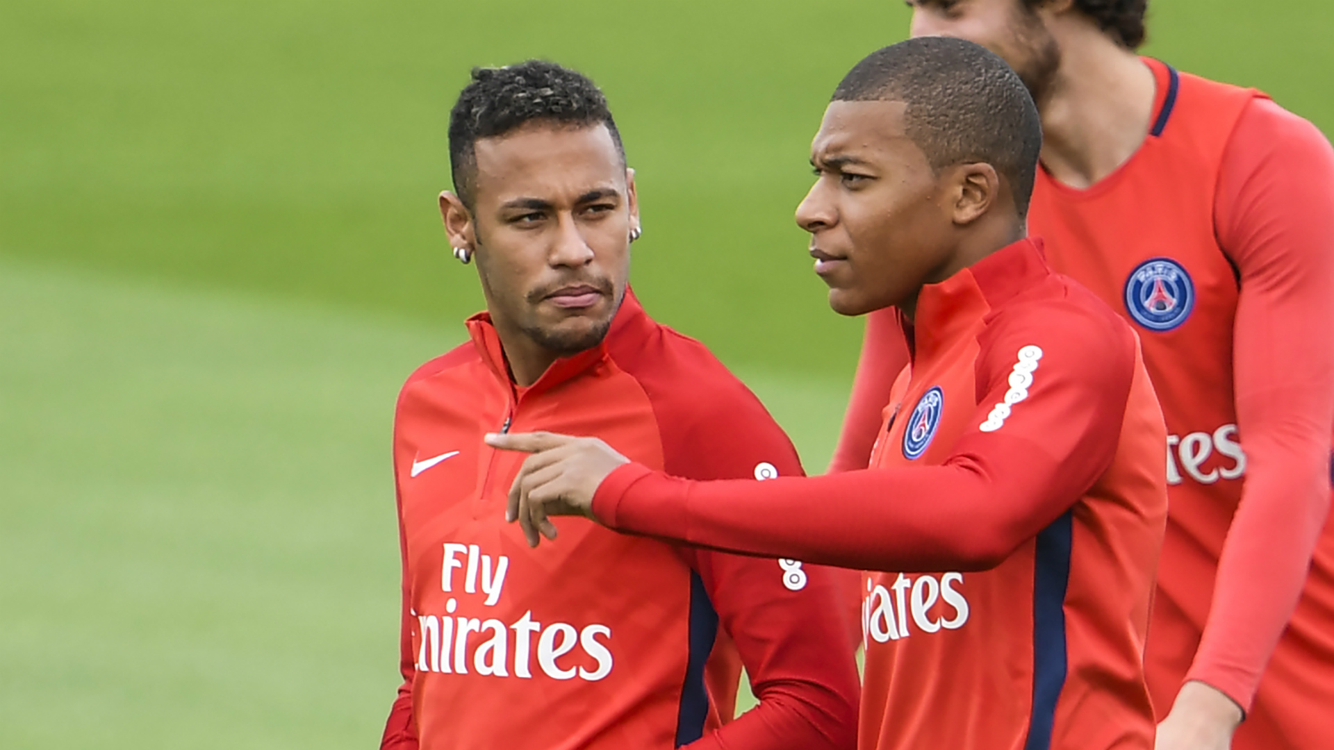 Kylian Mbappe Neymar Paris Saint-Germain