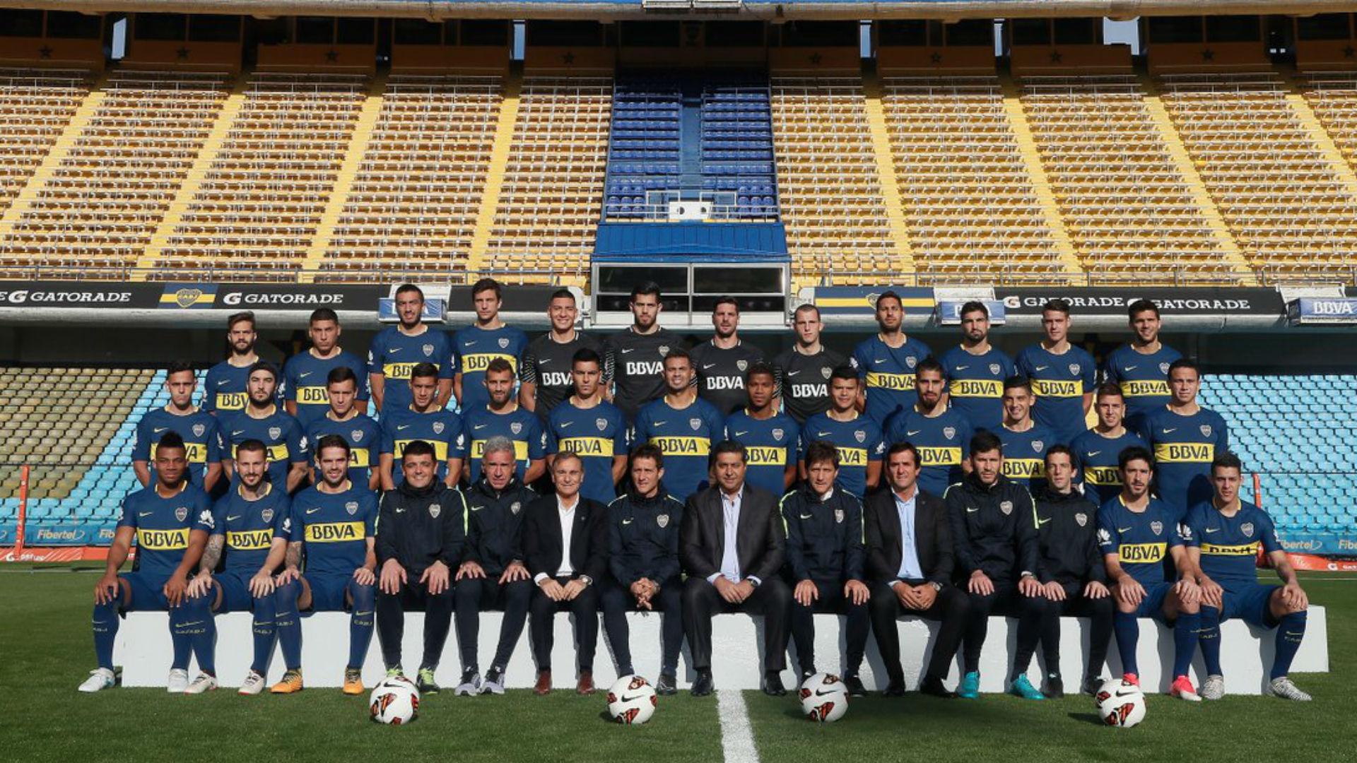 Plantel Boca Juniors 2017
