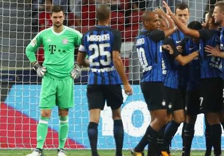 Inter come il Milan: battuto il Bayern