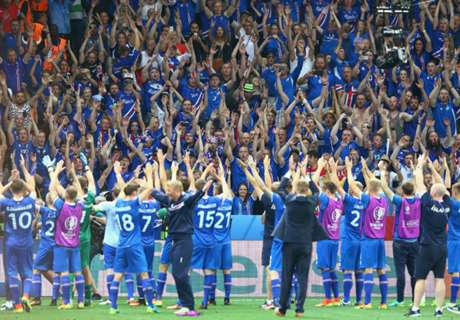 WATCH: Iceland get heroes' welcome