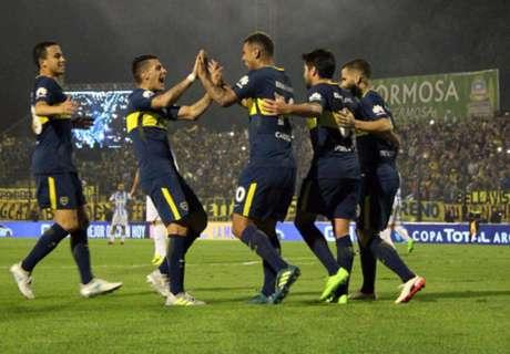 Fixture y resultados de Boca en 2017