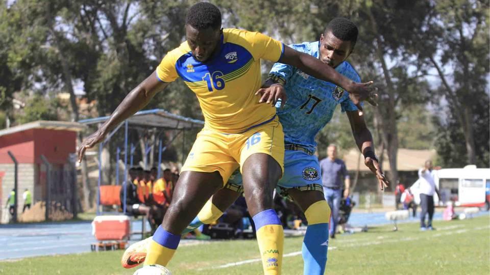 Rwanda v Zanzibar in Cecafa.