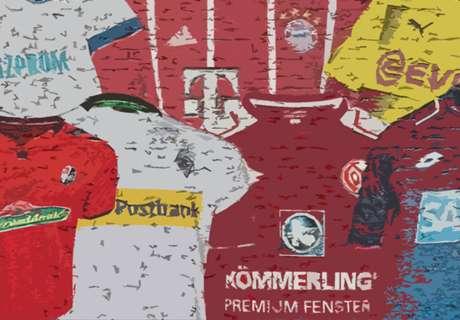 Die Trikots der Bundesliga-Klubs 2017/18