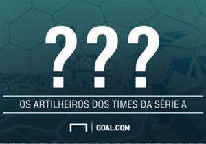 Faltando menos de três semanas para o início do Brasileirão, a Goal mostra quem são os artilheiros dos times que disputarão a Serie A. Confira!