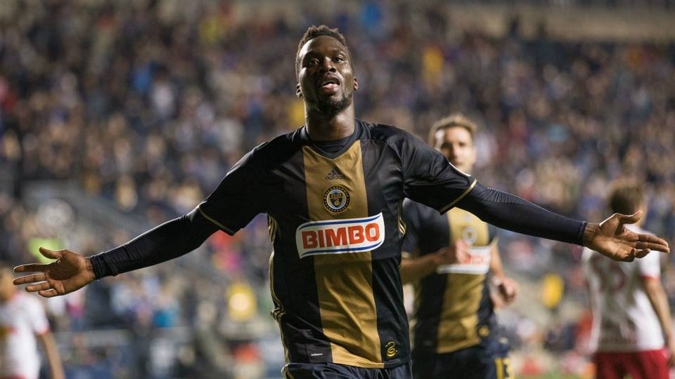 CJ Sapong MLS Philadelphia Union 05062017