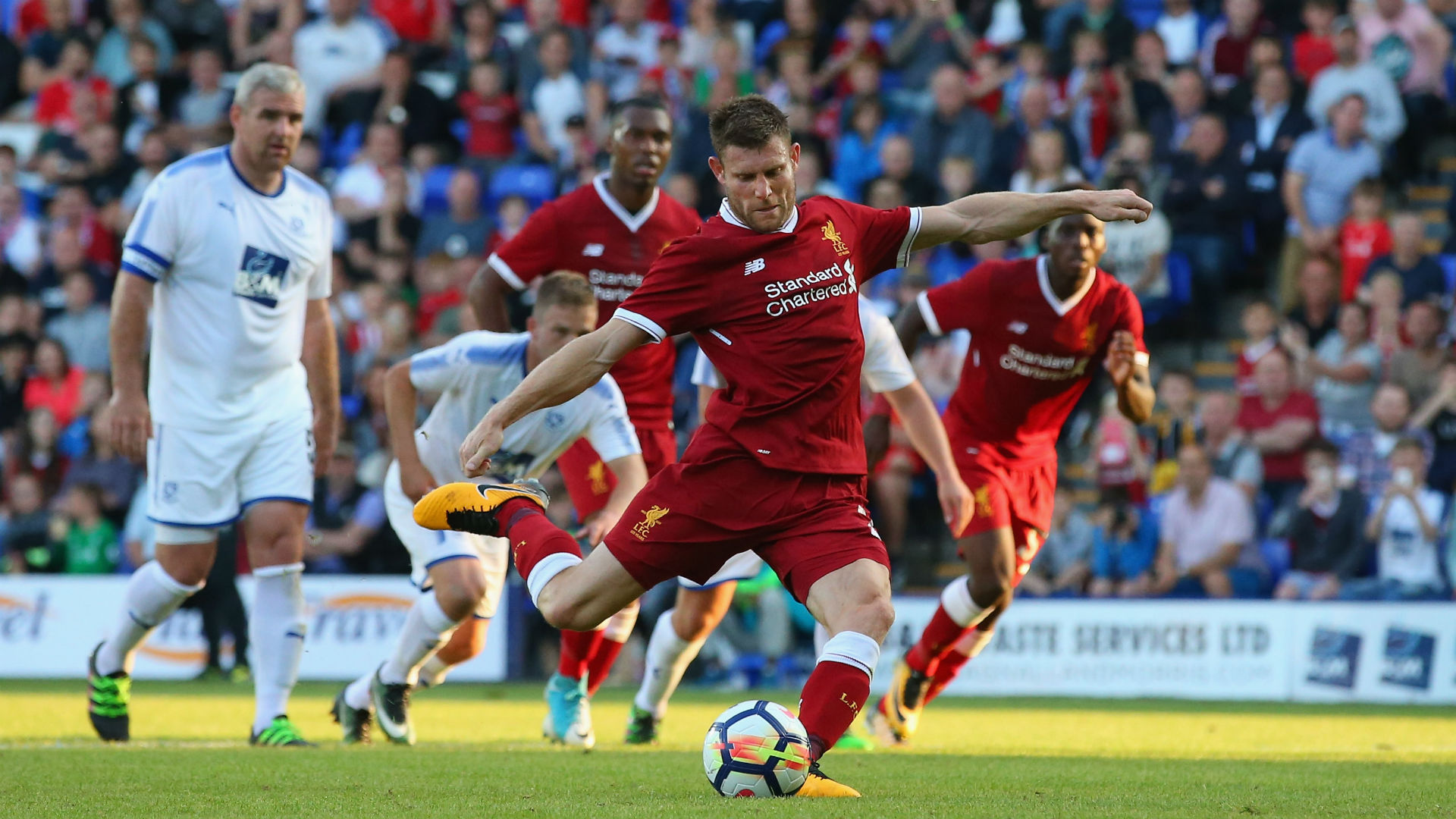 James Milner Liverpool 120717