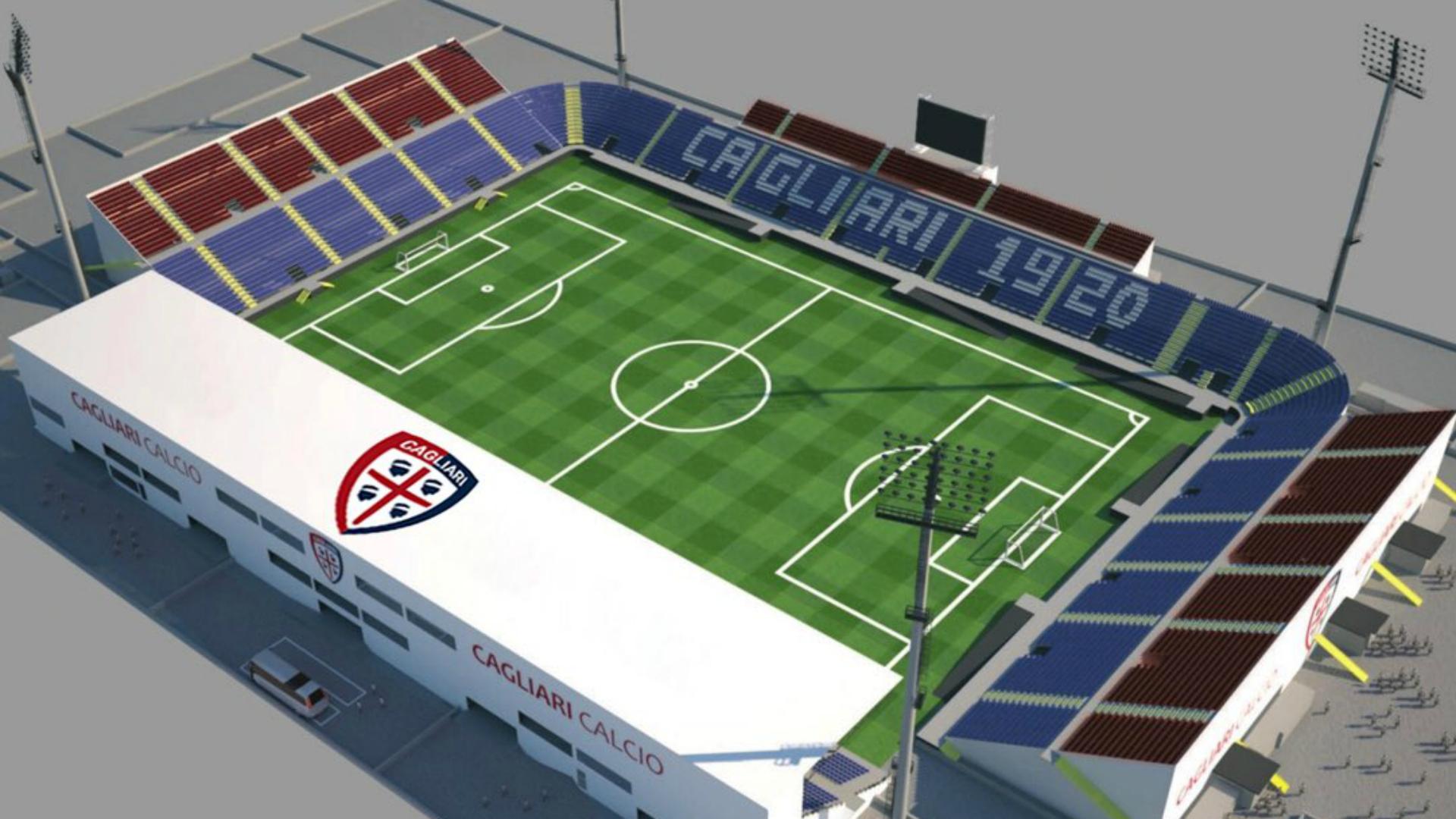 Stadio Cagliari, il sogno è diventato realtà. Arriva un altro via libera