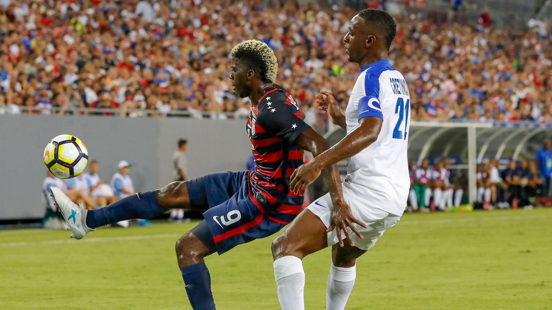 Gyasi Zardes USA Martinique Gold Cup