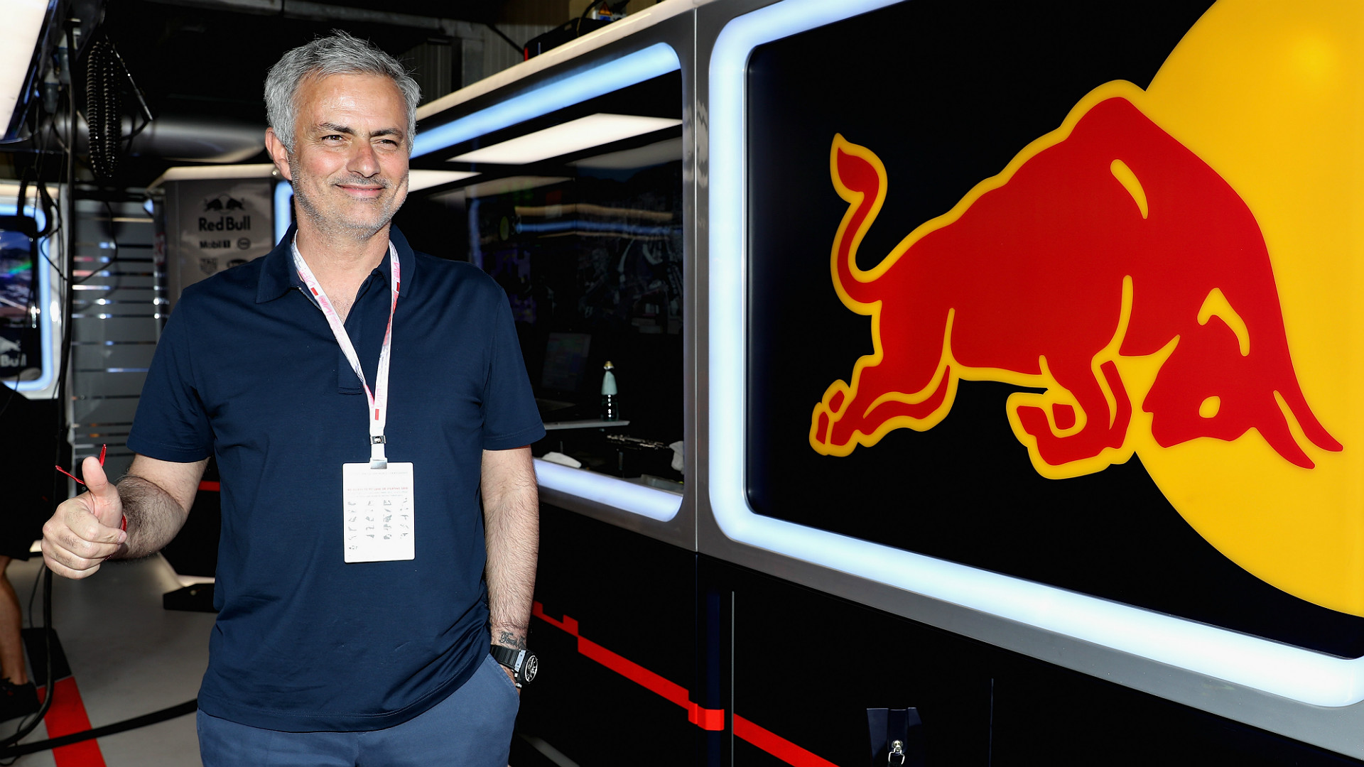 Jose Mourinho F1 Monaco Grand Prix