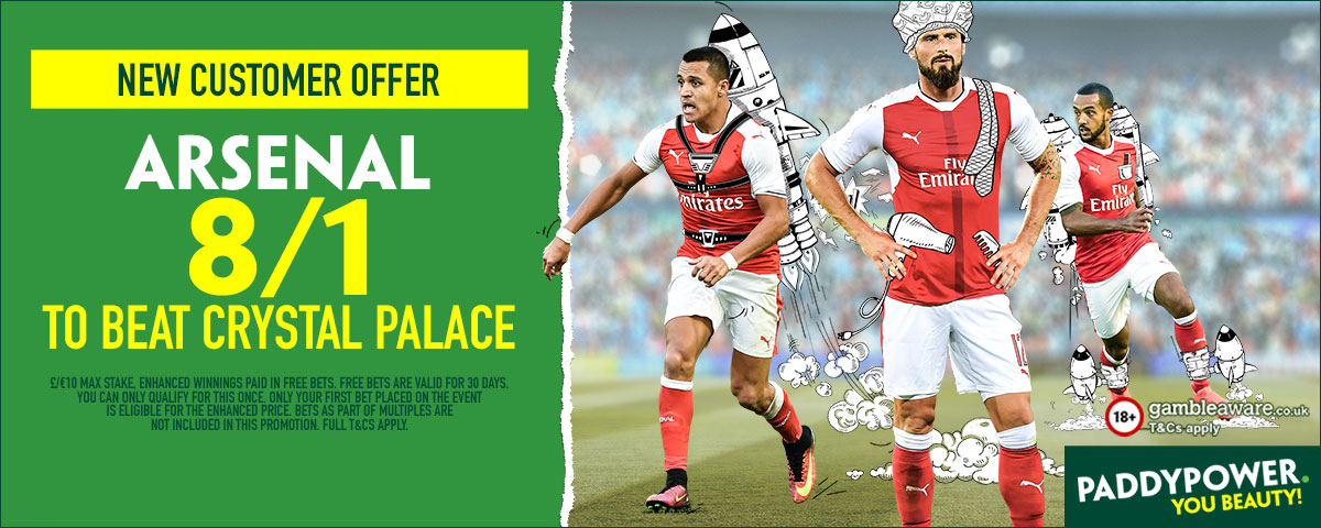 PP ENHANCED ARSENAL 8/1 V PALACE