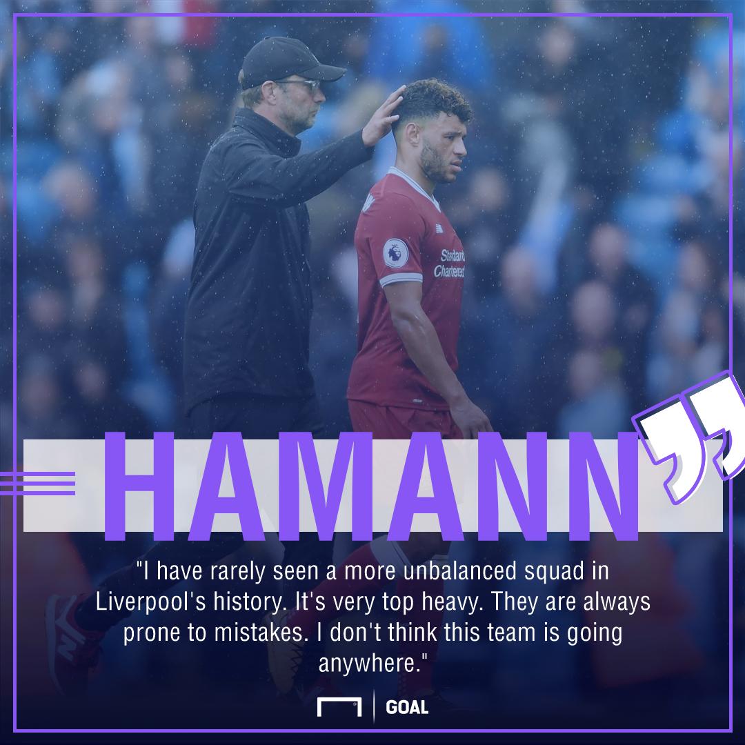 Dietmar Hamann Liverpool unbalanced