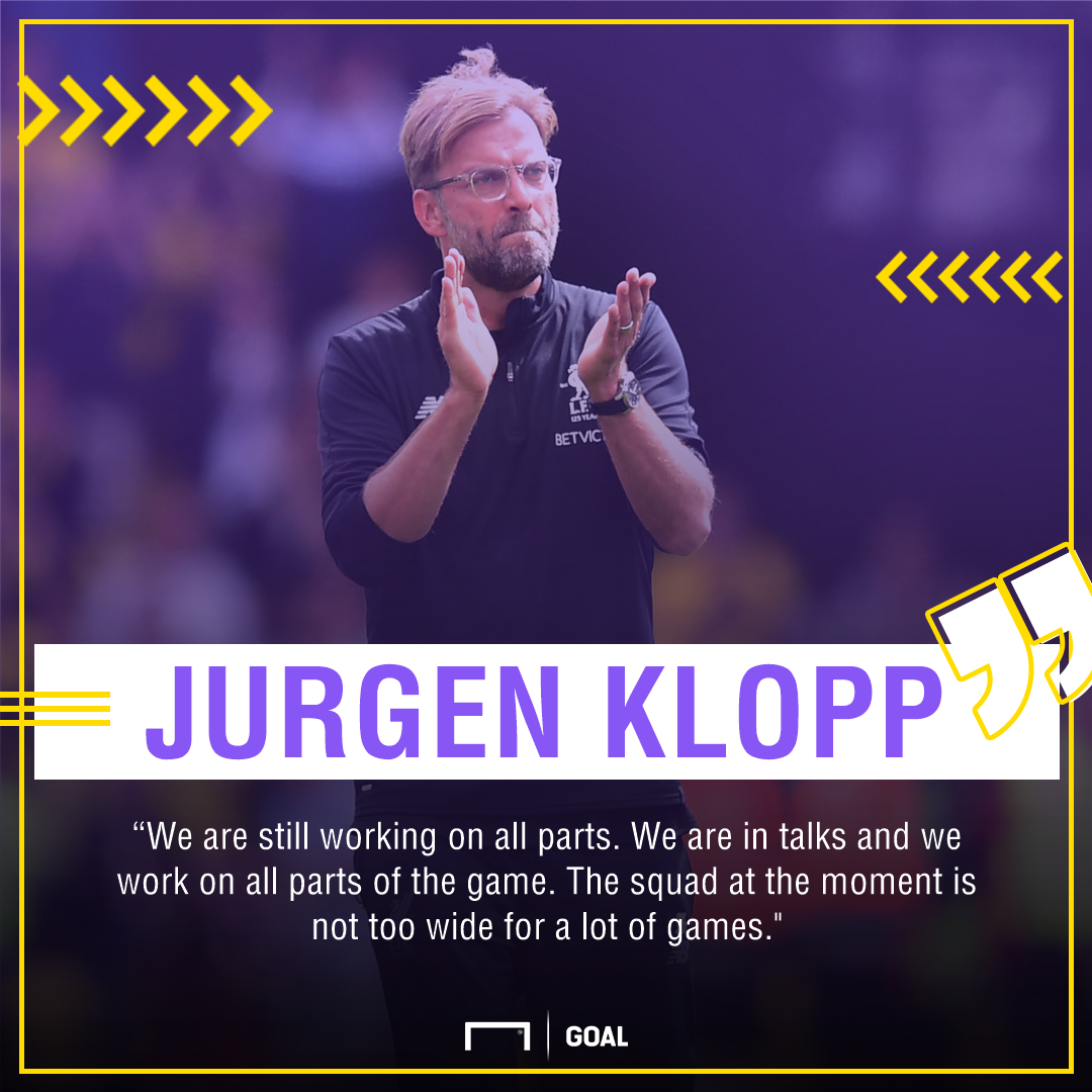 Jurgen Klopp Liverpool transfer market