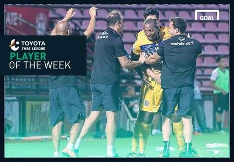 Toyota Thai League Player of the Week 15 : โชซิมาร์ โรดริเกวซ