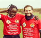 Ugandan star joins forces with Juan Mata