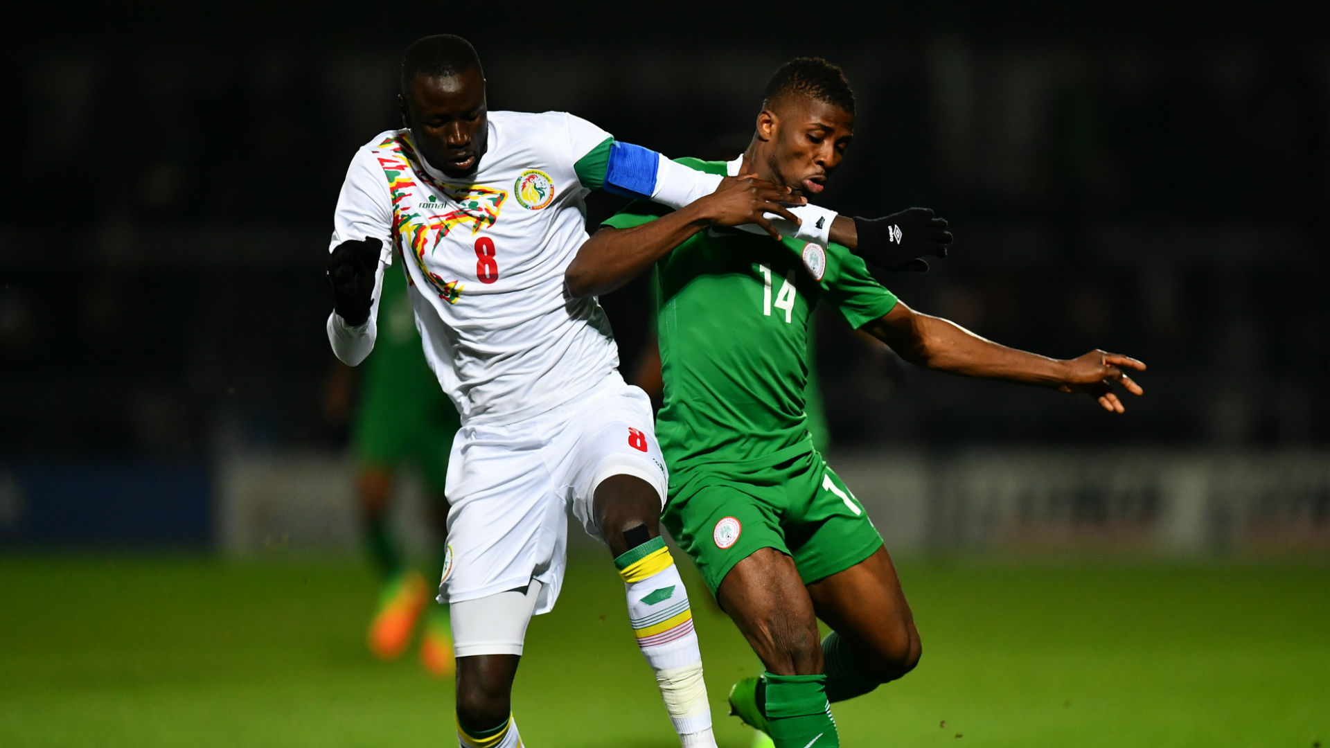 Cheikhou Kouyate & Iheanacho