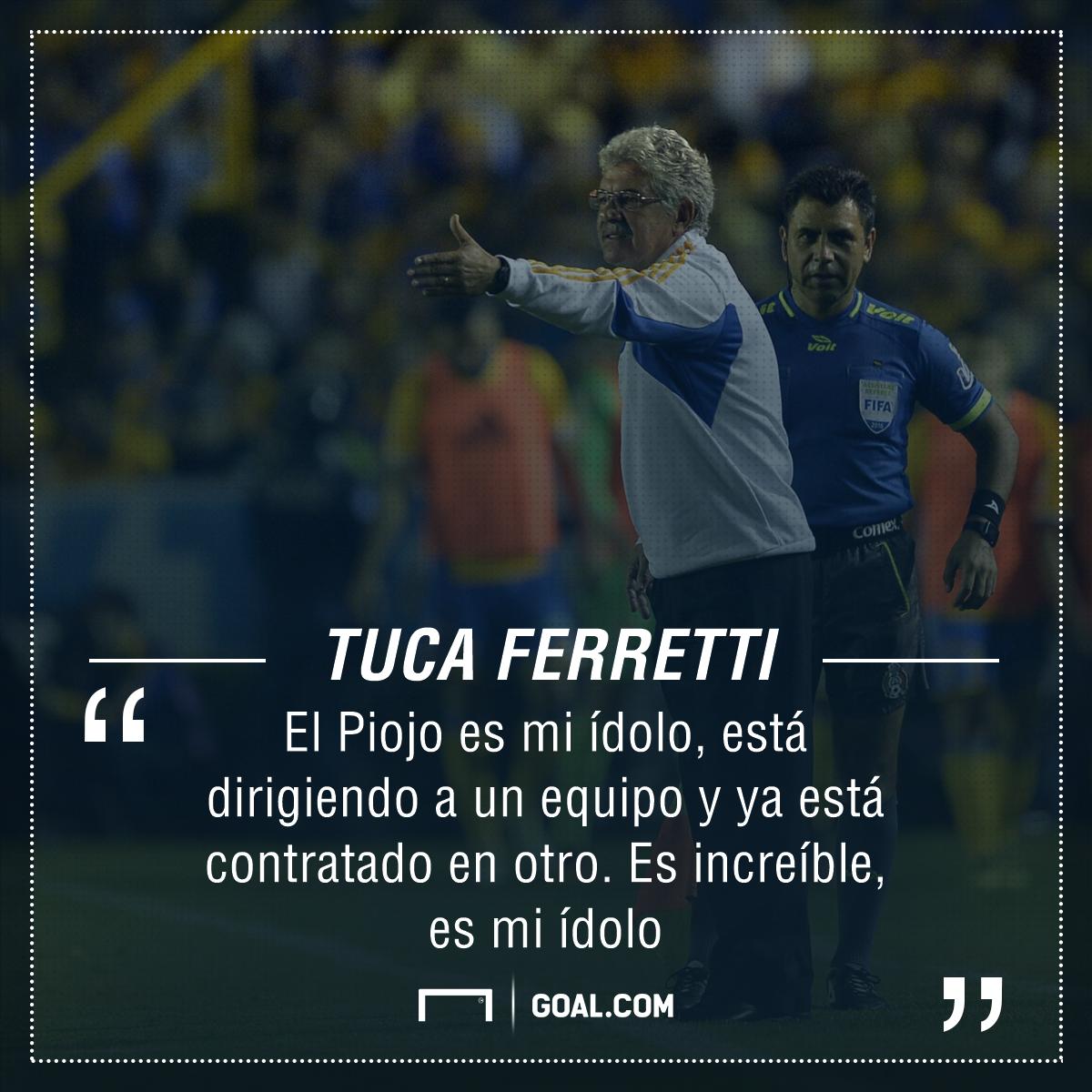 Tuca Ferretti asegura que