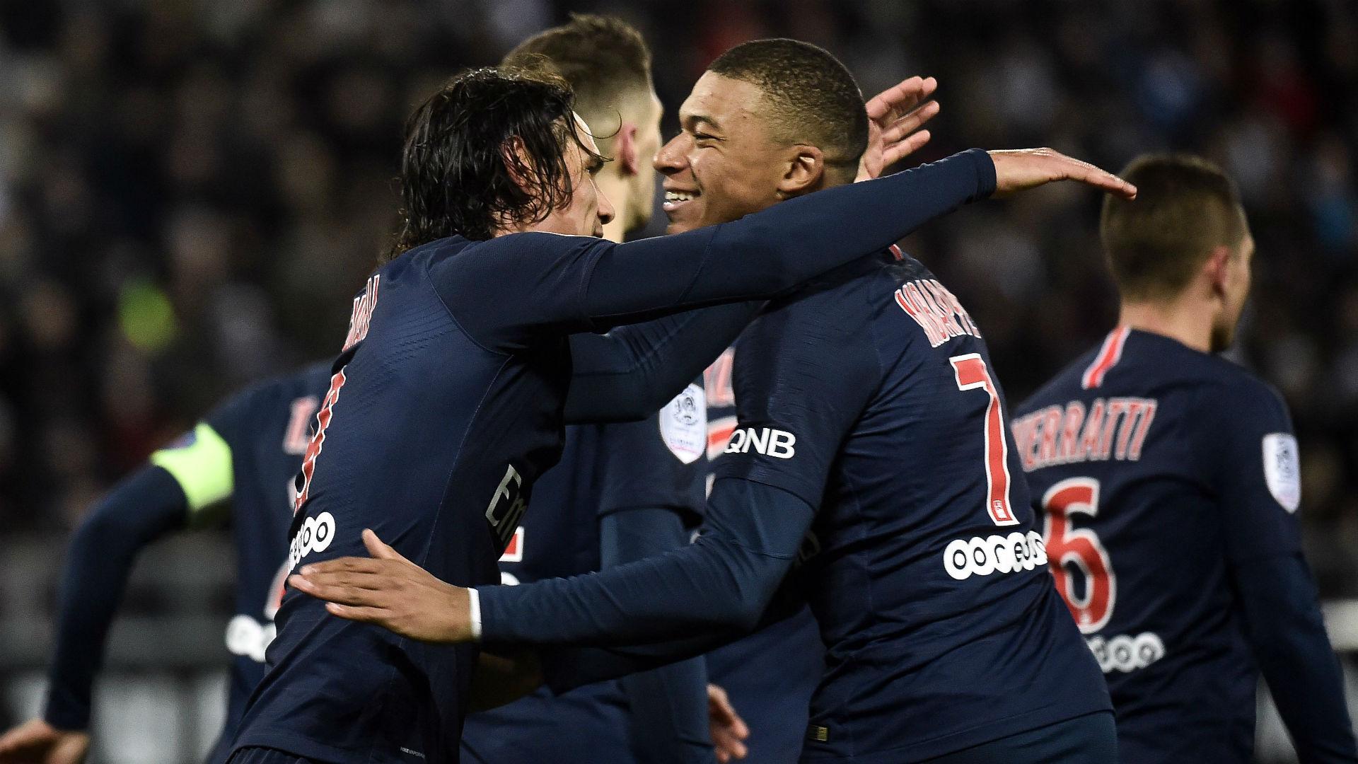 PSG : Mbappé et Cavani de retour dans le groupe pour affronter Nice