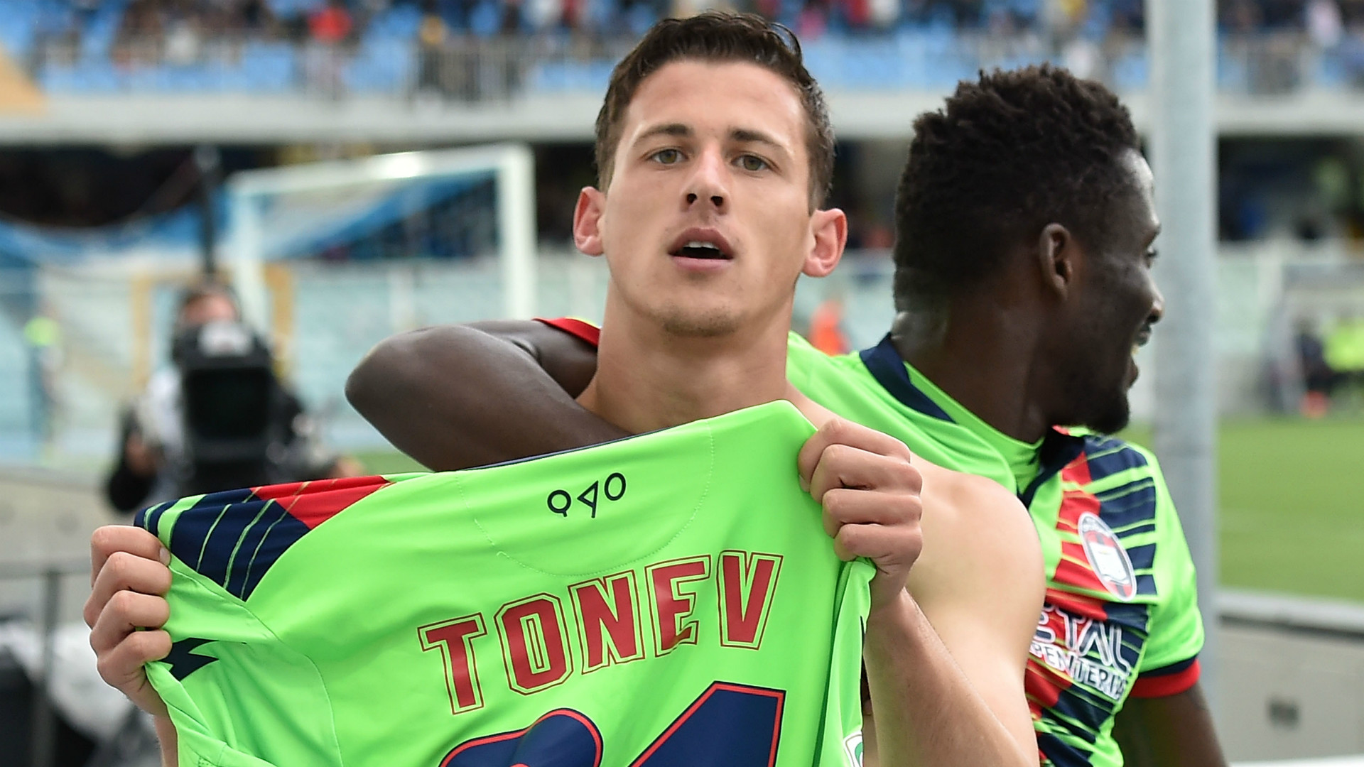 Aleksandar Tonev Crotone Serie A
