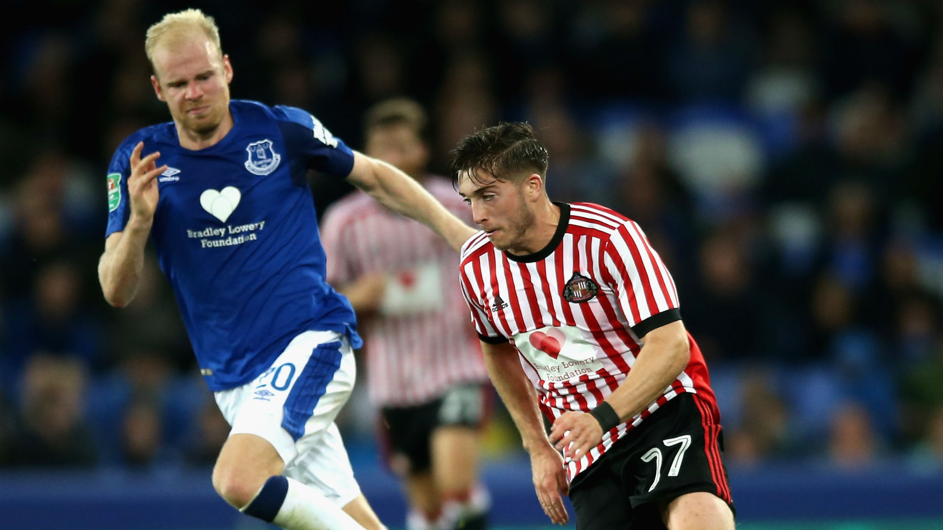 Lynden Gooch Davy Klaassen Sunderland Everton