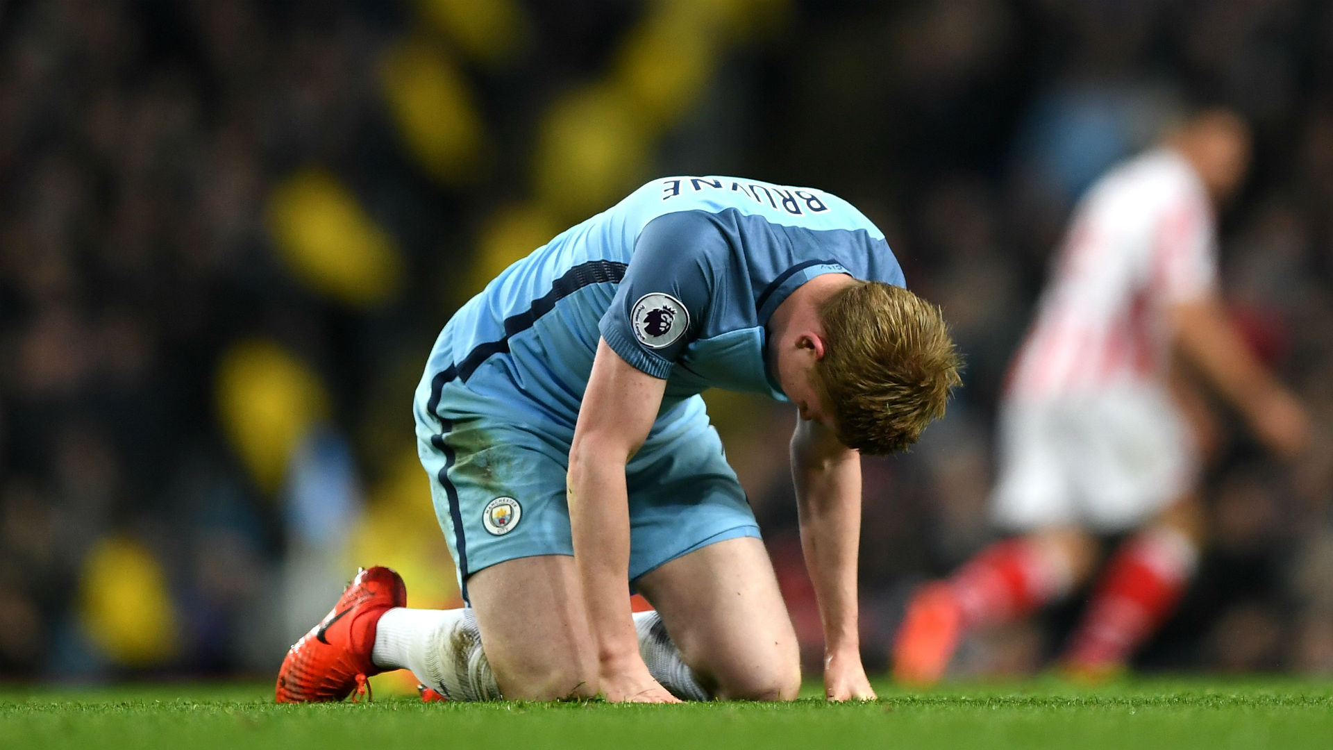 De Bruyne Man City Stoke