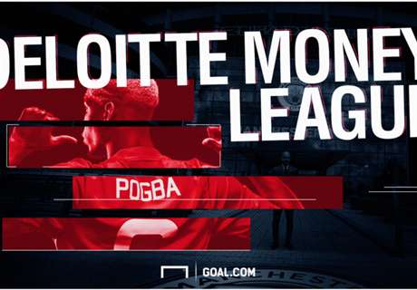Deloitte Money League : 20 สโมสรทำเงินสูงสุดประจำปี 2017