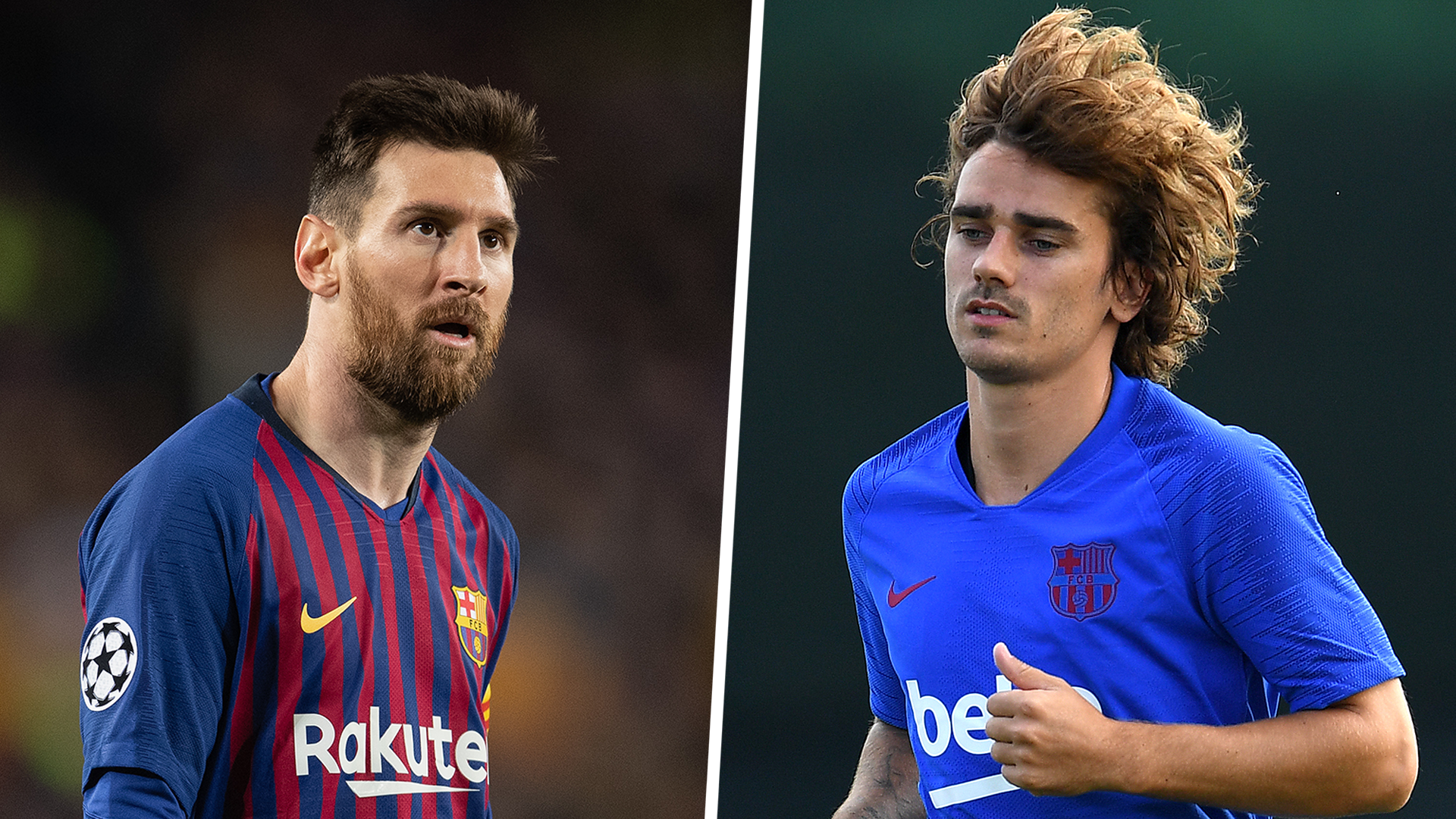 Messi and Griezmann need more time to build Barca relationship, admits Lenglet