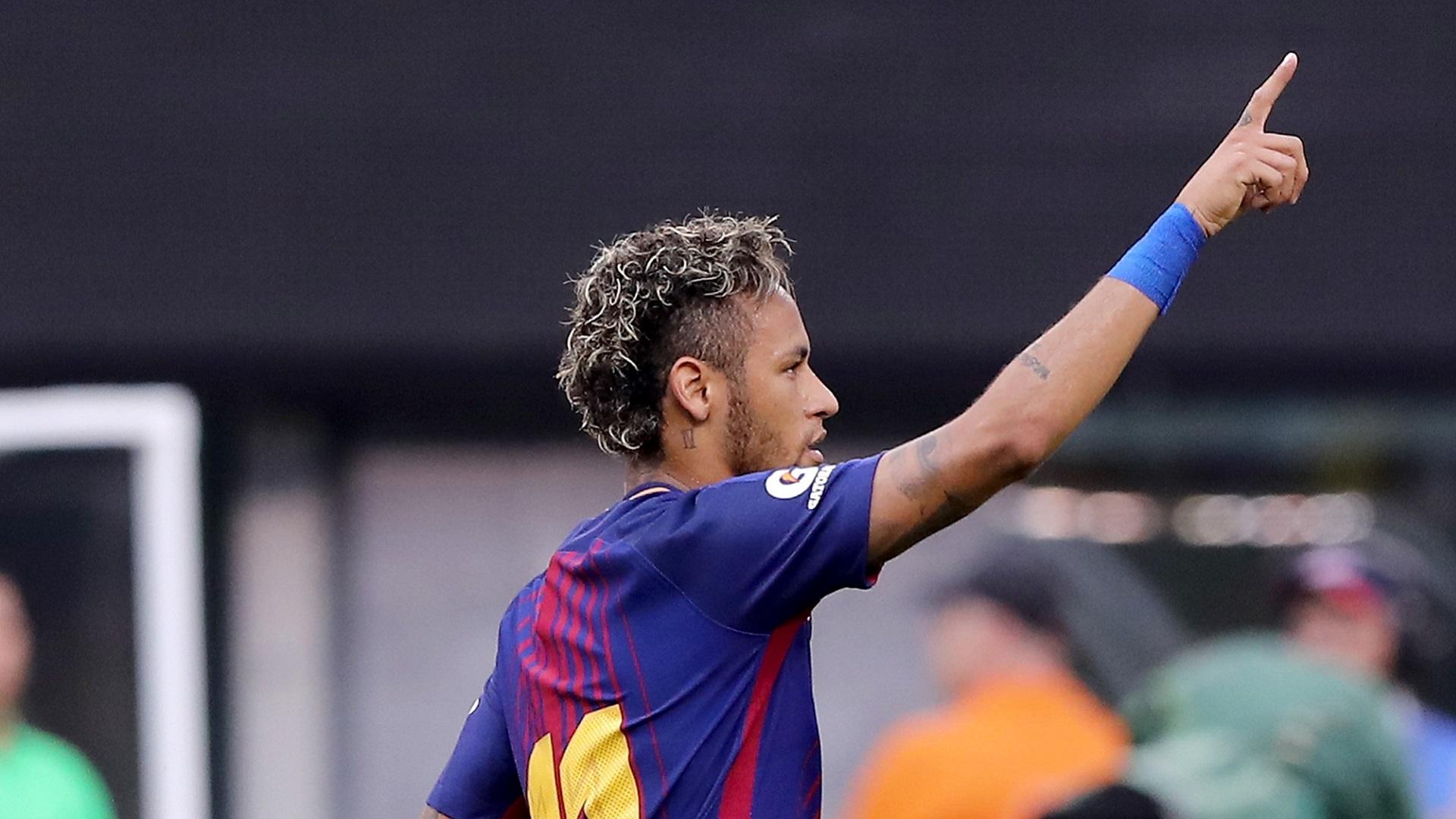 Messi le desea suerte a su