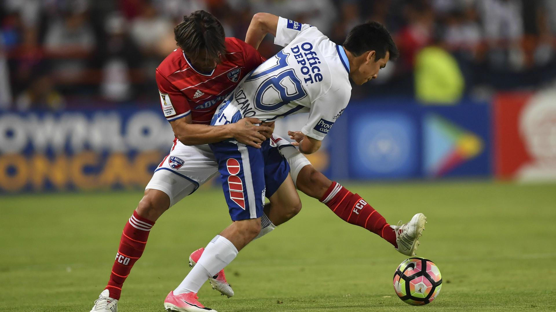Hernan Grana FC Dallas Hirving Lozano Pachuca
