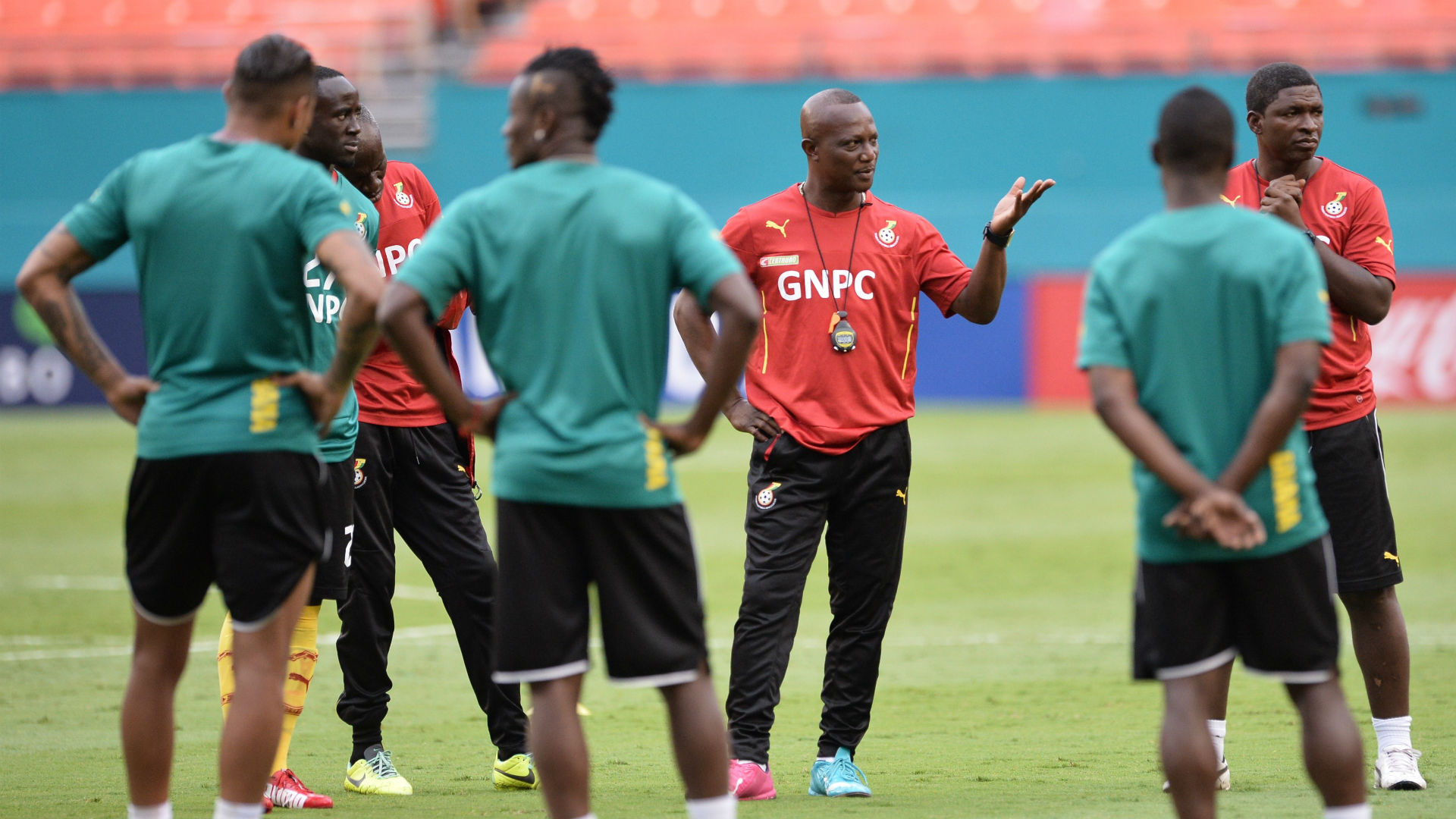 New Ghana coach promises to revive national team