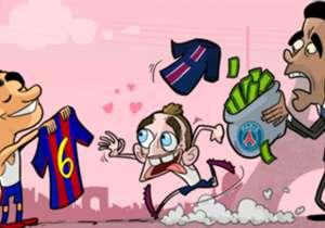 Marco Verratti wurde von Xavi als sein persönlicher Nachfolger im Mittelfeld des FC Barcelona auserkoren. Diese Aussicht lockt ihn wohl weg vom PSG-Geld in Richtung Katalonien.